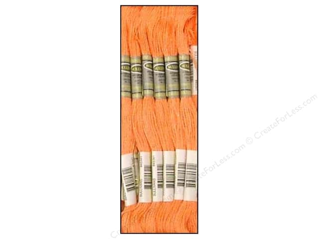 Sullivans Six-Strand Embroidery Floss 8.7 yd. Apricot (12 skeins)