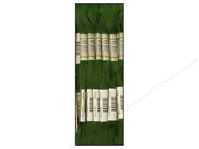Sullivans Six-Strand Embroidery Floss 8.7 yd. Dark Hunter Green (12 skeins)