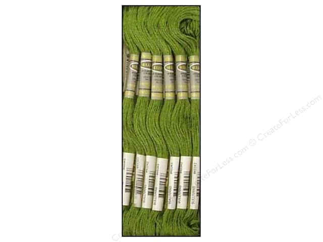 Sullivans Six-Strand Embroidery Floss 8.7 yd. Hunter Green (12 skeins)