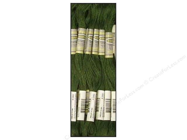 Sullivans Six-Strand Embroidery Floss 8.7 yd. Dark Pine Green (12 skeins)