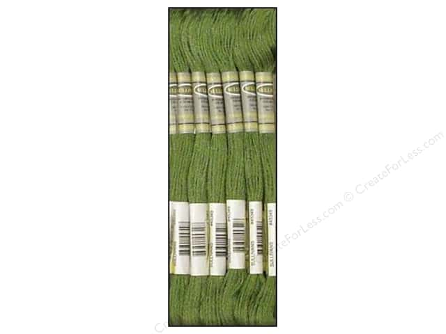 Sullivans Six-Strand Embroidery Floss 8.7 yd. Medium Pine Green (12 skeins)