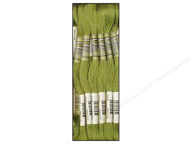 Sullivans Six-Strand Embroidery Floss 8.7 yd. Pine Green (12 skeins)