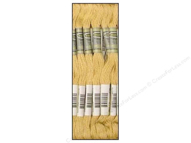 Sullivans Six-Strand Embroidery Floss 8.7 yd. Very Light Tan (12 skeins)