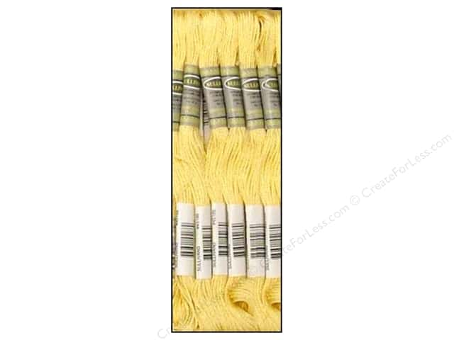 Sullivans Six-Strand Embroidery Floss 8.7 yd. Light Pale Yellow (12 skeins)