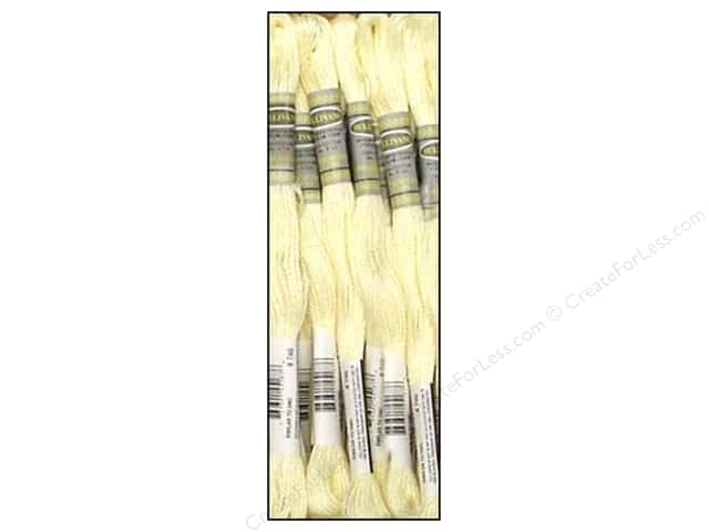 Sullivans Six-Strand Embroidery Floss 8.7 yd. Off White (12 skeins)