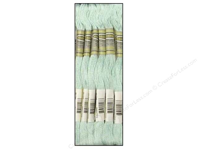 Sullivans Six-Strand Embroidery Floss 8.7 yd. Very Light Sky Blue (12 skeins)