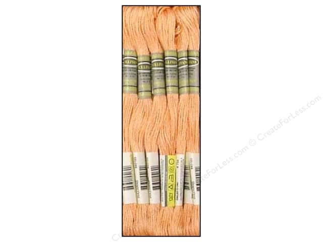 Sullivans Six-Strand Embroidery Floss 8.7 yd. Light Peach (12 skeins)