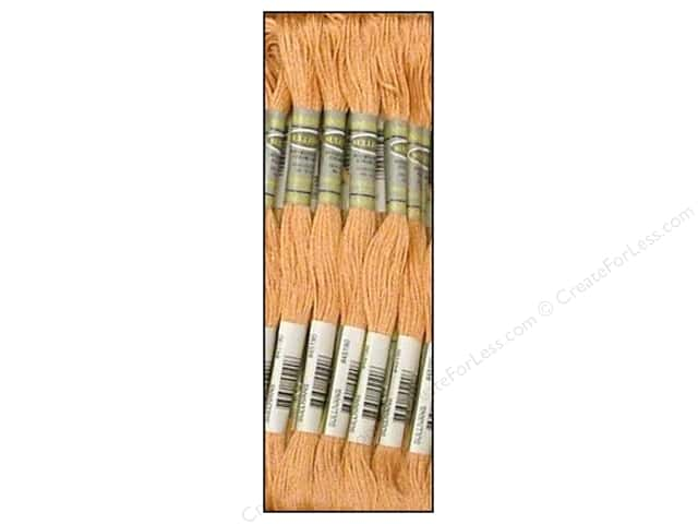 Sullivans Six-Strand Embroidery Floss 8.7 yd. Very Light Terra Cotta (12 skeins)