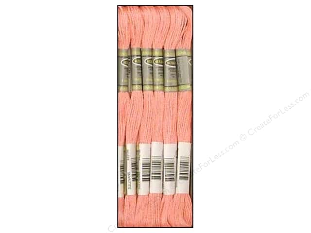 Sullivans Six-Strand Embroidery Floss 8.7 yd. Medium Pink (12 skeins)