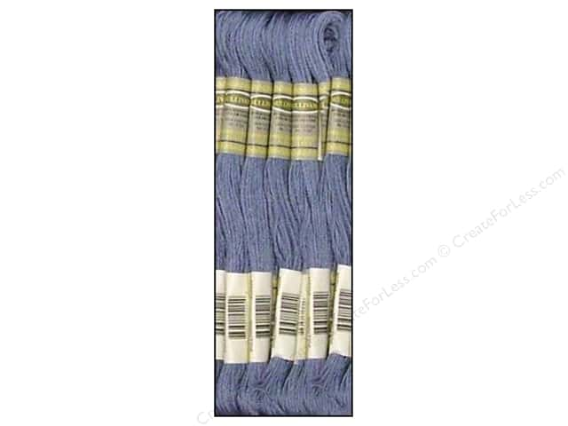 Sullivans Six-Strand Embroidery Floss 8.7 yd. Medium Cornflower Blue (12 skeins)