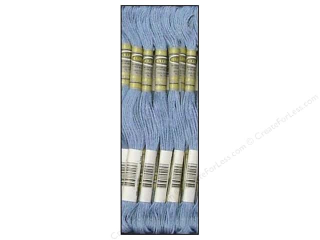 Sullivans Six-Strand Embroidery Floss 8.7 yd. Light Cornflower Blue (12 skeins)