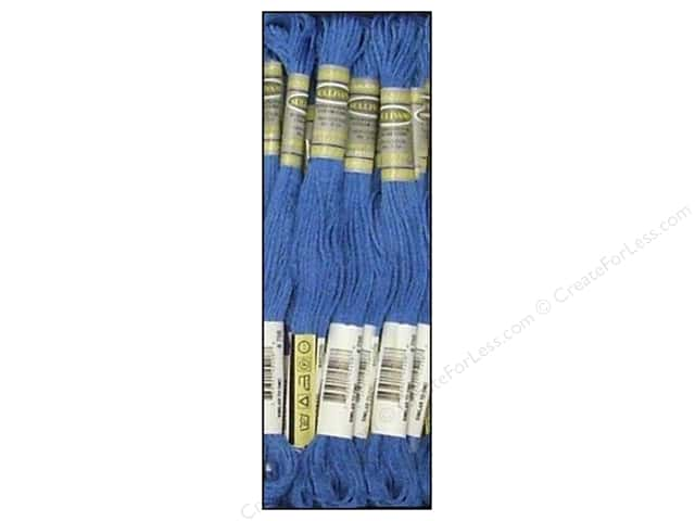 Sullivans Six-Strand Embroidery Floss 8.7 yd. Dark Delft Blue (12 skeins)