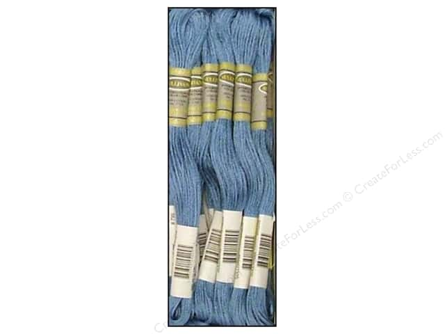 Sullivans Six-Strand Embroidery Floss 8.7 yd. Medium Delft Blue (12 skeins)