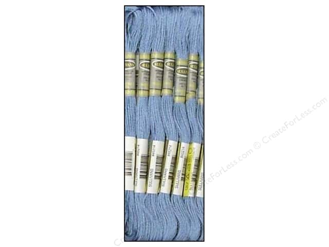 Sullivans Six-Strand Embroidery Floss 8.7 yd. Delft Blue (12 skeins)