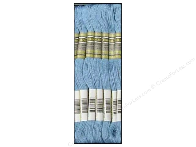 Sullivans Six-Strand Embroidery Floss 8.7 yd. Light Blue (12 skeins)