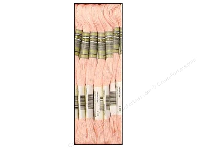 Sullivans Six-Strand Embroidery Floss 8.7 yd. Baby Pink (12 skeins)