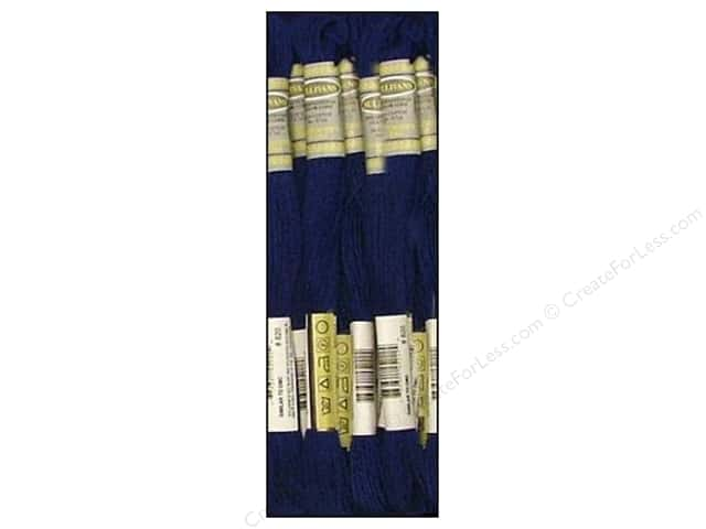 Sullivans Six-Strand Embroidery Floss 8.7 yd. Very Dark Royal Blue (12 skeins)