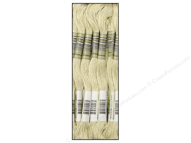 Sullivans Six-Strand Embroidery Floss 8.7 yd. Light Beige Grey (12 skeins)