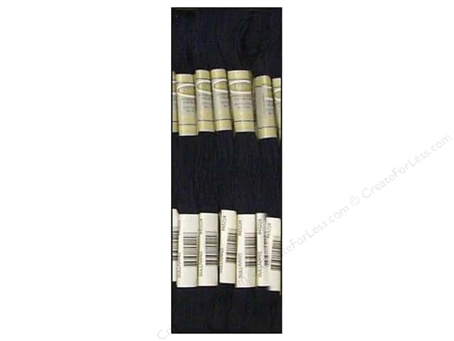 Sullivans Six-Strand Embroidery Floss 8.7 yd. Dark Navy Blue (12 skeins)
