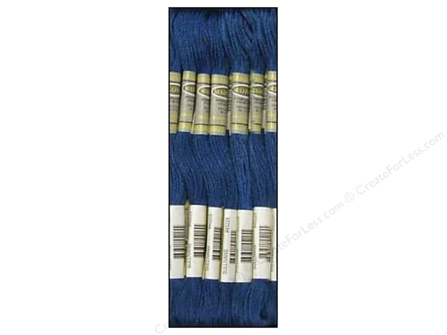Sullivans Six-Strand Embroidery Floss 8.7 yd. Very Dark Blue (12 skeins)