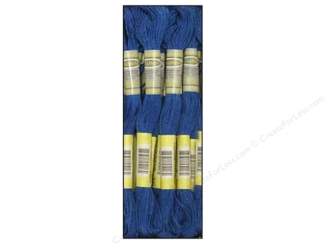 Sullivans Six-Strand Embroidery Floss 8.7 yd. Dark Blue (12 skeins)