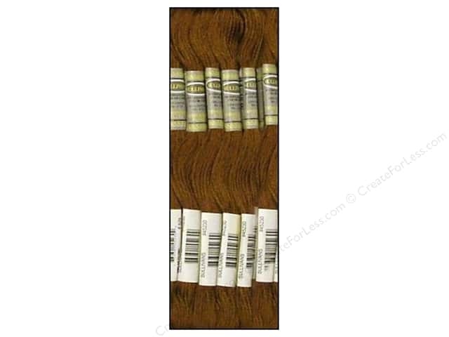 Sullivans Six-Strand Embroidery Floss 8.7 yd. Very Dark Golden Olive (12 skeins)