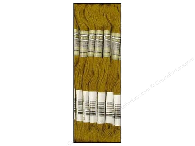 Sullivans Six-Strand Embroidery Floss 8.7 yd. Medium Golden Olive (12 skeins)