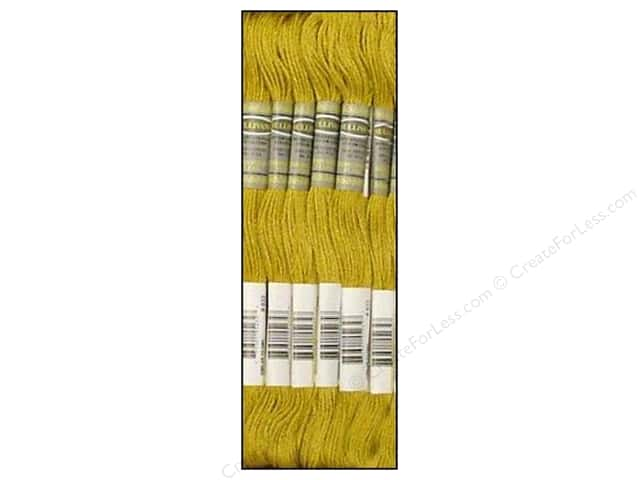 Sullivans Six-Strand Embroidery Floss 8.7 yd. Light Golden Olive (12 skeins)