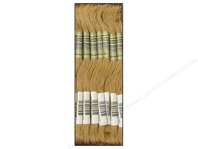 Sullivans Six-Strand Embroidery Floss 8.7 yd. Light Beige Brown (12 skeins)