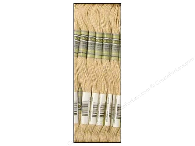Sullivans Six-Strand Embroidery Floss 8.7 yd. Very Light Beige Brown (12 skeins)