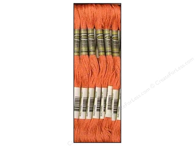 Sullivans Six-Strand Embroidery Floss 8.7 yd. Salmon (12 skeins)