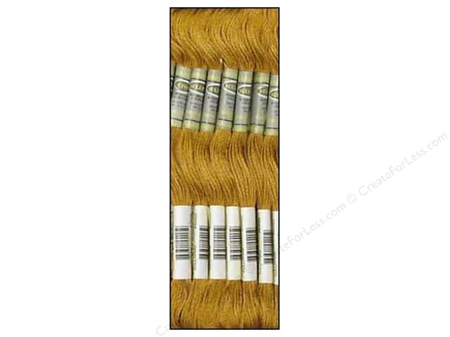 Sullivans Six-Strand Embroidery Floss 8.7 yd. Hazelnut Brown (12 skeins)
