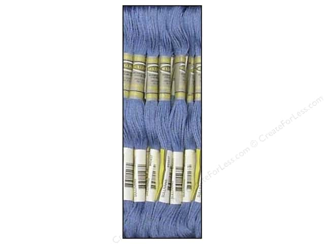 Sullivans Six-Strand Embroidery Floss 8.7 yd. Medium Lavender Blue (12 skeins)