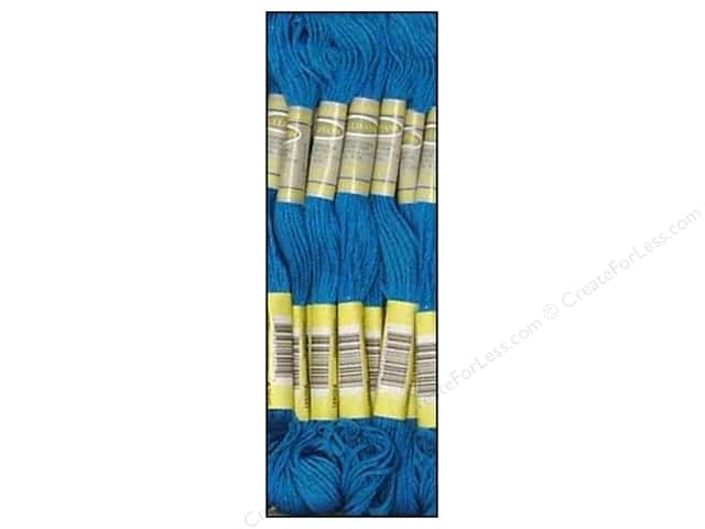 Sullivans Six-Strand Embroidery Floss 8.7 yd. Electric Blue (12 skeins)
