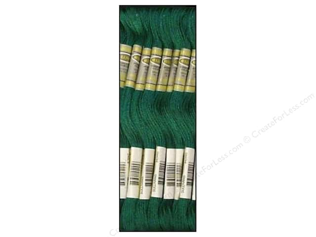 Sullivans Six-Strand Embroidery Floss 8.7 yd. Dark Teal Green (12 skeins)