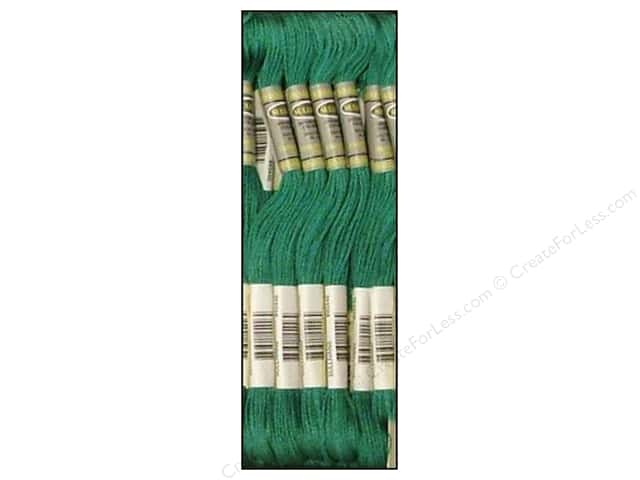Sullivans Six-Strand Embroidery Floss 8.7 yd. Medium Teal Green (12 skeins)