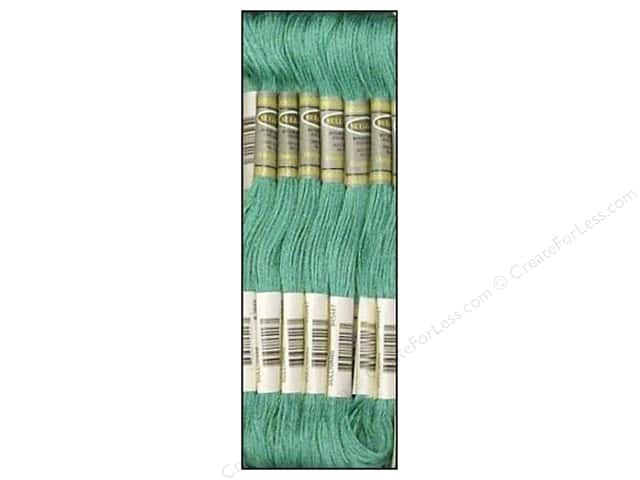 Sullivans Six-Strand Embroidery Floss 8.7 yd. Light Teal Green (12 skeins)