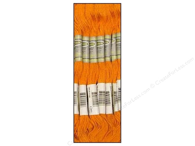 Sullivans Six-Strand Embroidery Floss 8.7 yd. Dark Autumn Gold (12 skeins)