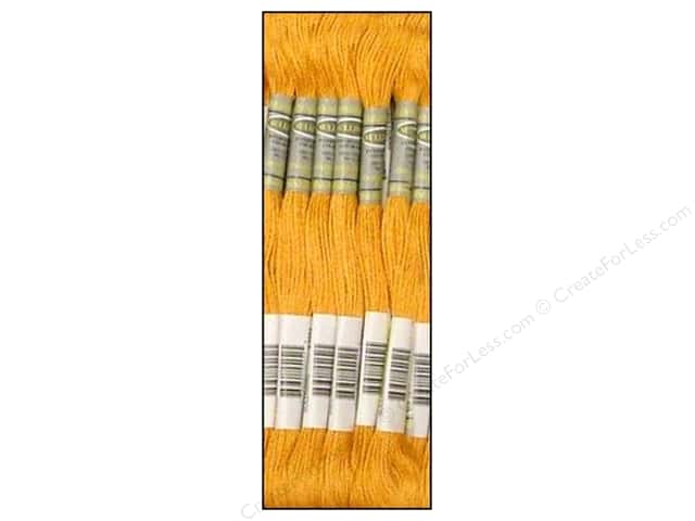 Sullivans Six-Strand Embroidery Floss 8.7 yd. Medium Autumn Gold (12 skeins)