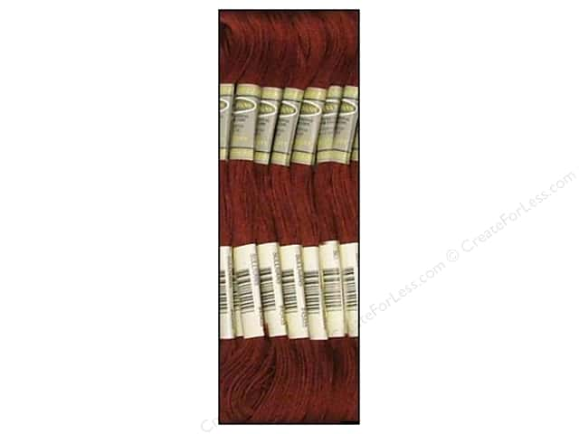 Sullivans Six-Strand Embroidery Floss 8.7 yd. Dark Rosewood (12 skeins)