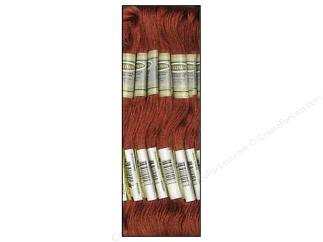 Sullivans Six-Strand Embroidery Floss 8.7 yd. Medium Rosewood (12 skeins)
