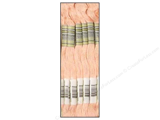 Sullivans Six-Strand Embroidery Floss 8.7 yd. Very Light Salmon (12 skeins)