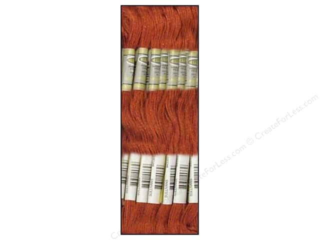 Sullivans Six-Strand Embroidery Floss 8.7 yd. Dark Shell Pink (12 skeins)