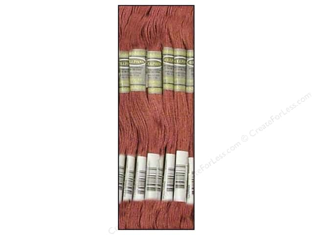 Sullivans Six-Strand Embroidery Floss 8.7 yd. Dark Antique Mauve (12 skeins)