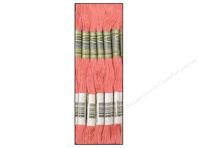 Sullivans Six-Strand Embroidery Floss 8.7 yd. Dusty Rose (12 skeins)