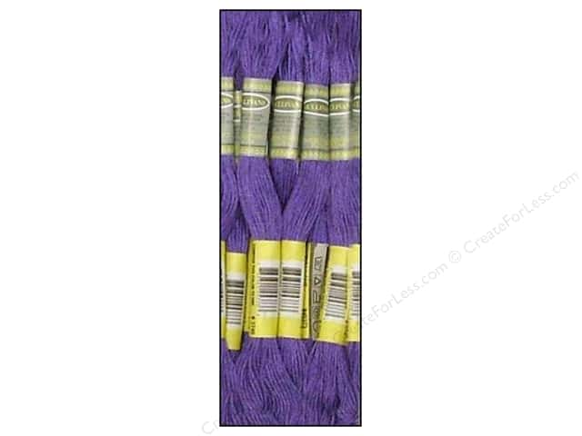 Sullivans Six-Strand Embroidery Floss 8.7 yd. Dark Blue Violet (12 skeins)