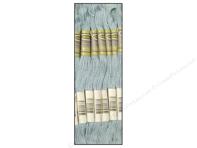 Sullivans Six-Strand Embroidery Floss 8.7 yd. Very Light Antique Blue (12 skeins)