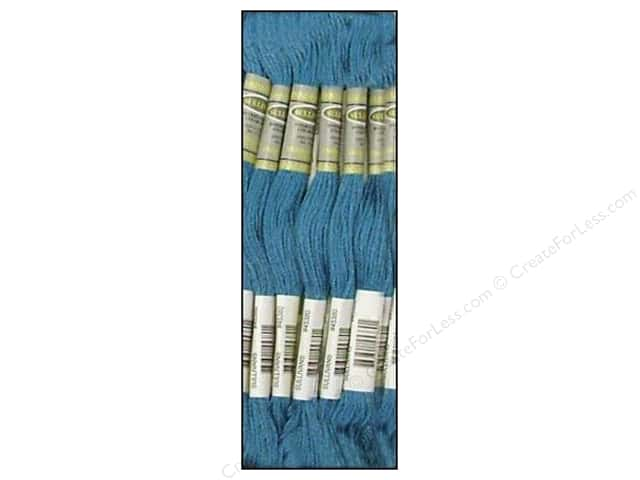 Sullivans Six-Strand Embroidery Floss 8.7 yd. Medium Wedgewood (12 skeins)