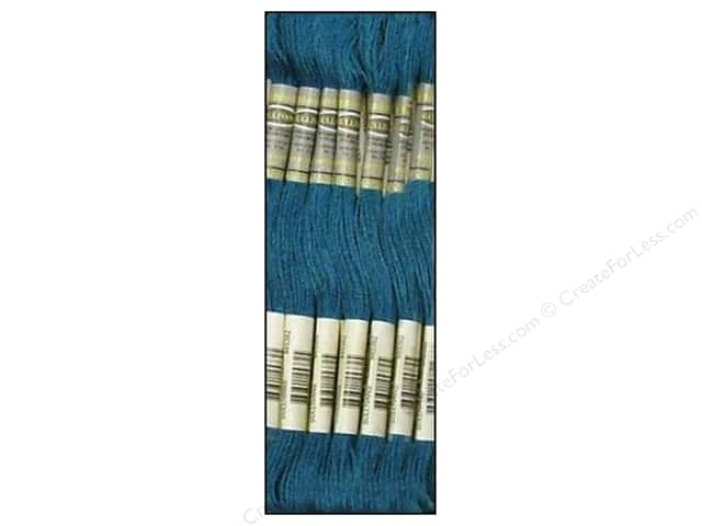 Sullivans Six-Strand Embroidery Floss 8.7 yd. Very Dark Peacock Blue (12 skeins)