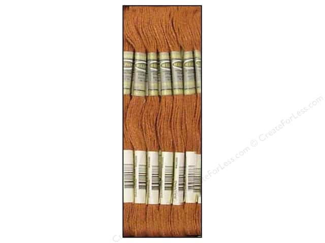 Sullivans Six-Strand Embroidery Floss 8.7 yd. Very Dark Desert Sand (12 skeins)